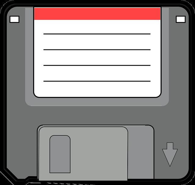 jak sformatować komputer - dyskietka