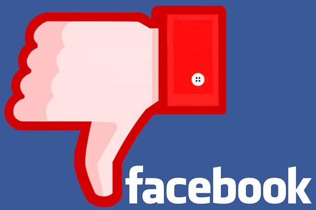 Jak usunąć konto na Facebooku - łapka w dol