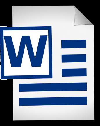 Jak zrobić spis treści w Wordzie - logo worda